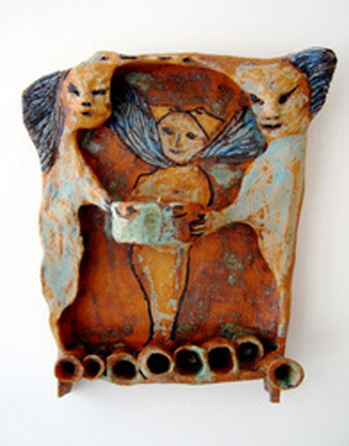 The Offerring- Stoneware. Sold